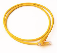CAT5E UTP PATCH LEAD LSZH 5M YELLOW