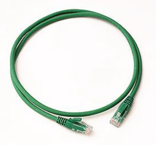 CAT5E UTP PATCH LEAD LSZH 1M GREEN