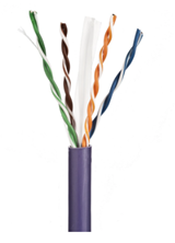 ULTIMA CAT6 U/UTP DATA CABLE LSZH VIOLET 305M BOX