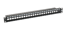 ULTIMA CAT5E UNLOADED PATCH PANEL 24 PORT