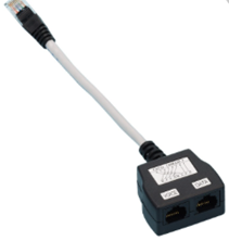 CAT5E RJ45 ECONOMISER DATA/VOICE