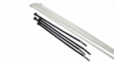 BLACK CABLE TIES 100MM X 2.5MM BAG OF 100