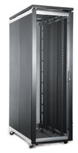 FI SERVER CABINET 27U 800 WIDE X 1200 DEEP - CURVED MESH