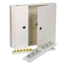 24WAY ST DOUBLE LOCKING WALL BOXES LOADED WITH 24 MM ADAPTORS