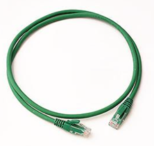 CAT6 UTP PATCH LEAD LSZH 7M GREEN