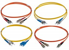 ST - ST DUPLEX 8-125 PATCH LEADS 1M