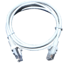 CAT5E U/UTP PATCH LEAD PVC 10M WHITE