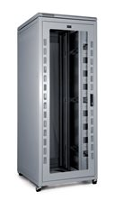 PI DATA CABINET 27U 600 WIDE X 600 DEEP - GLASS DOOR