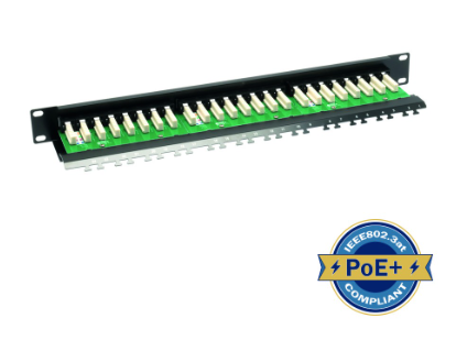 ULTIMA CAT6 RIGHT ANGLE PATCH PANEL 24 PORT