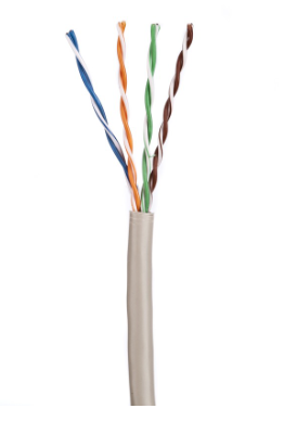 ULTIMA CAT5E U/UTP DATA CABLE PVC GREY 305M BOX