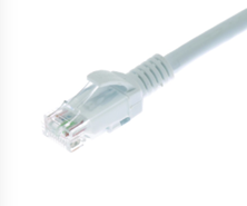 CAT6 U/UTP PATCH LEAD LSZH 1M WHITE
