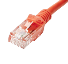 CAT5E U/UTP PATCH LEAD PVC 3M ORANGE