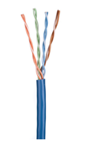 ULTIMA CAT5E U/UTP DATA CABLE STRANDED PVC BLUE 305M BOX