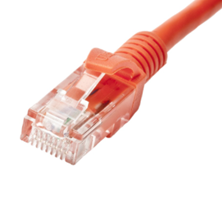 CAT6 U/UTP PATCH LEAD LSZH 7M ORANGE