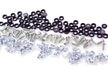 BAG OF 100 MONOSERTS, BOLTS AND CUP WASHERS